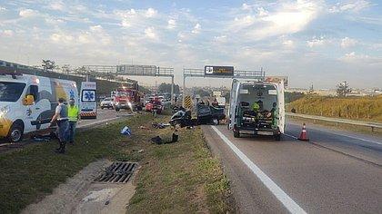 Idosos atravessam pista para ver sobrinha morta em acidente e acabam atropelados
