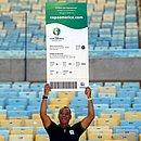 Capitão do penta, Cafu é embaixador da Copa América no Brasil