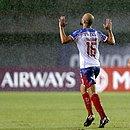 Thaciano marcou o primeiro gol do Bahia no empate com o Independiente