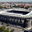 Estádio Santiago Bernabéu é a casa do Real Madrid, na Espanha