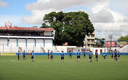 Elenco tricolor finalizou no CT do Fortaleza a preparação para enfrentar o Ceará