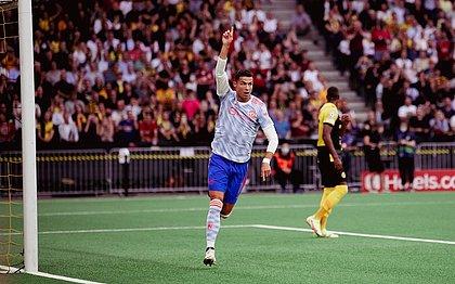 Cristiano Ronaldo já atuou em dois jogos pelo Manchester United