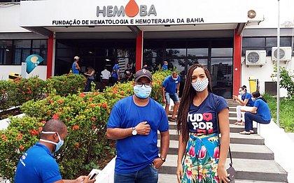 Sabadão Solidário: com estoque crítico, Hemoba promove campanha de doações