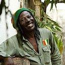 O cantor de reggae Alpha Blondy