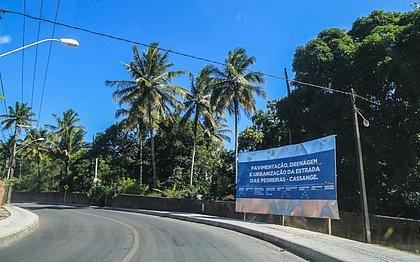 Prefeitura entrega nova Estrada das Pedreiras neste sábado (2)