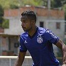 Élber está recuperado do incômodo na coxa e vai enfrentar o Goiás
