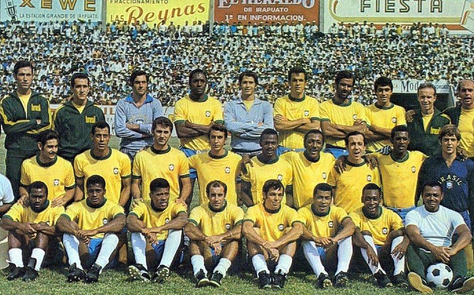 Delegação brasileira na Copa do Mundo de 1970, no México