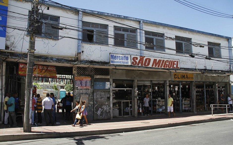 Mercado São Miguel começa a ser reconstruído e terá 74 boxes