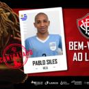 Vitória anuncia volante uruguaio Pablo Siles como novo reforço da Toca do Leão