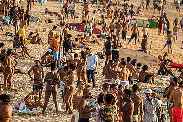 A Guarda Civil Municipal (GCM) estará nas praias, com rondas regulares, orientando a população e fazendo cumprir o decreto municipal. (Porto da Barra)