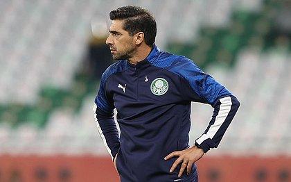 O técnico do Palmeiras, Abel Ferreira