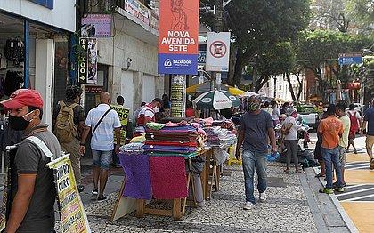 8 em cada 10 pessoas que deixaram de trabalhar na Bahia em 2020 eram informais