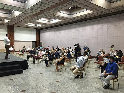 Profissionais de turismo participam de aula inaugural do Capacita Salvador