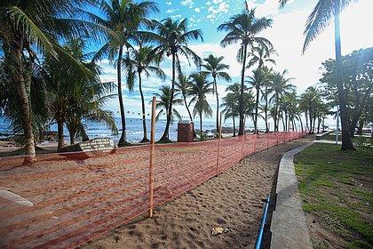 Praias de Salvador são interditadas e já estão proibidas neste sábado (21)