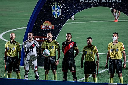 Vasco e Atlético-GO empataram em Goiânia