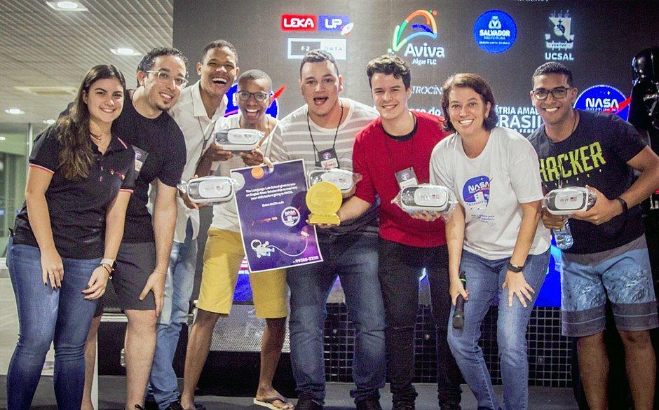 Estudantes baianos vencem desafio mundial da Nasa com projeto sustentável