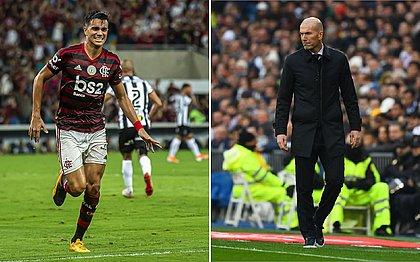 'Muito bom tecnicamente', diz Zidane sobre Reinier, ex-Flamengo