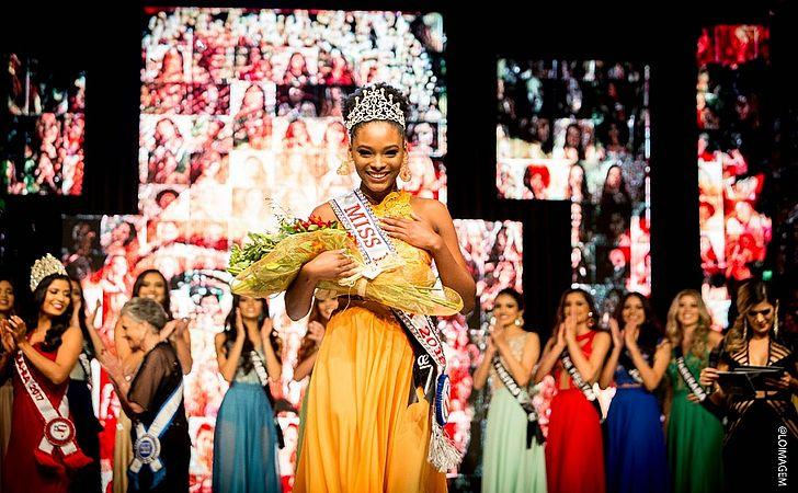 Miss Bahia 2018 desfilou duas vezes no Afro Fashion Day