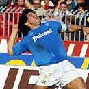 Maradona foi bicampeão italiano pela Napoli