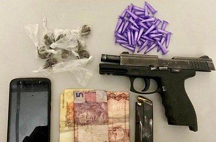 Polícia apreende arma e drogas no complexo do Nordeste de Amaralina