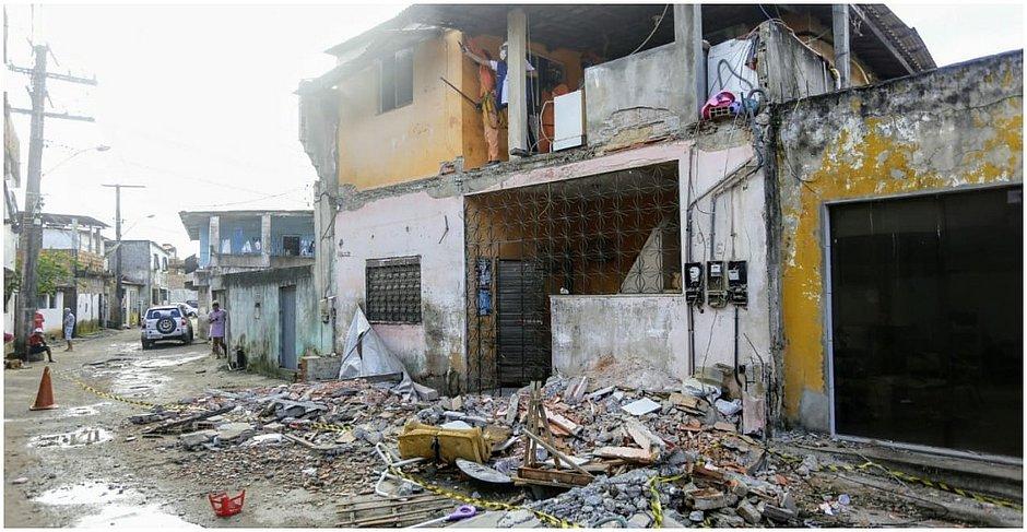 Acidente aconteceu na Rua da Jaqueira, em Periperi