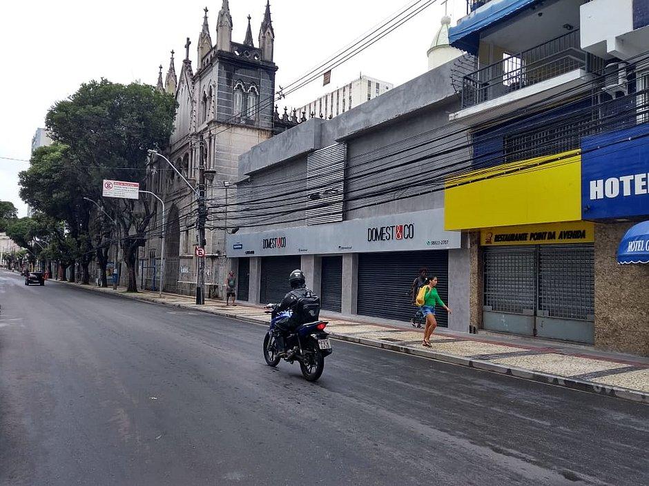 Coronavírus: comércio de rua de Salvador fechará a partir de sábado (28)