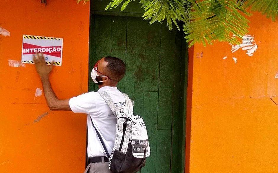 Bar desobedece decreto e é interditado na Ilha de Bom Jesus do Passos