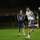 Argentina fez cinco treinamentos no Barradão