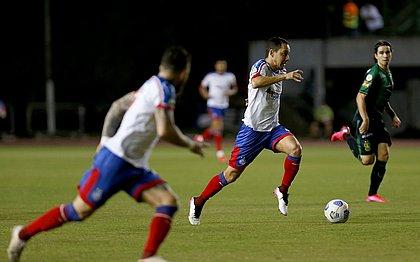Rodriguinho marcou um dos gols do Bahia na derrota para o América-MG