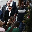 Neymar chega à delegacia para depor sobre acusação de estupro