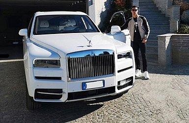 Cristiano Ronaldo e seu Rolls-Royce Cullinan, o SUV mais caro do mundo