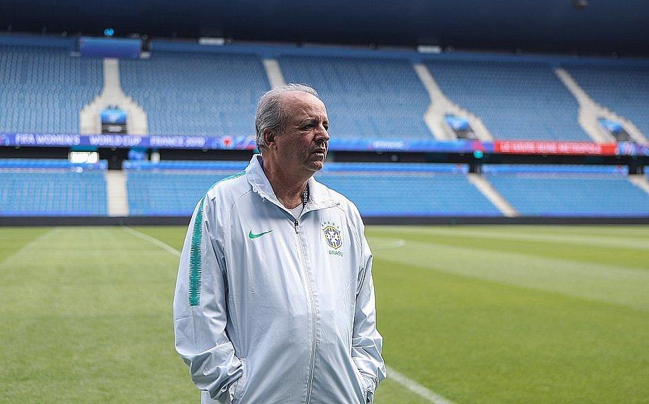 Vadão foi o treinador da Seleção Brasileira feminina na última Copa do Mundo