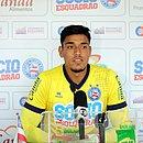 Goleiro Fernando atuou na primeira partida do time B no ano