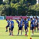 Elenco do Bahia voltou aos treinos de olho no confronto com o Ceará