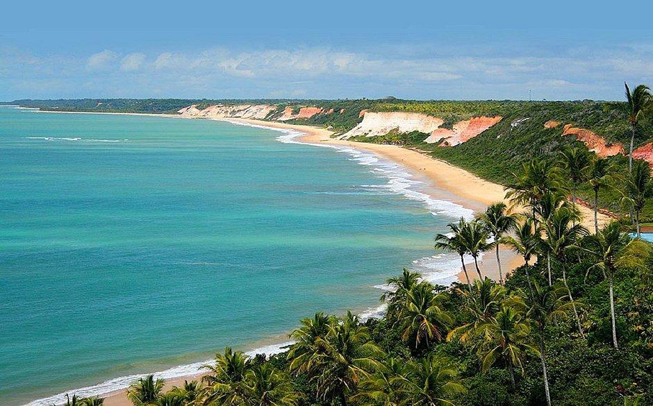 Praia da Pitinga, em Arraial D'Ajuda