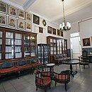 Salão interno no Instituto Geográfico e Histórico da Bahia