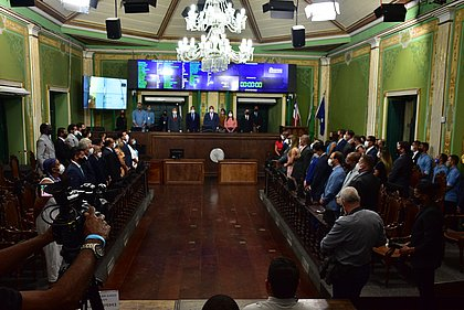 Câmara inicia trabalhos com novos nomes e foco no combate à pandemia