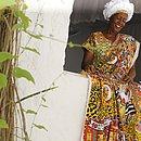 A estilista Dete Lima, 67 anos, é responsável pelo figurino das Deusas do Ébano desde o início