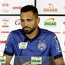 Gilberto concede entrevista no Fazendão
