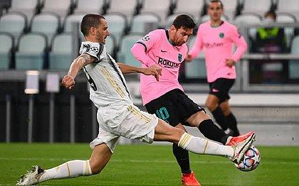 Messi fez gol e deu assistência no duelo contra a Juventus