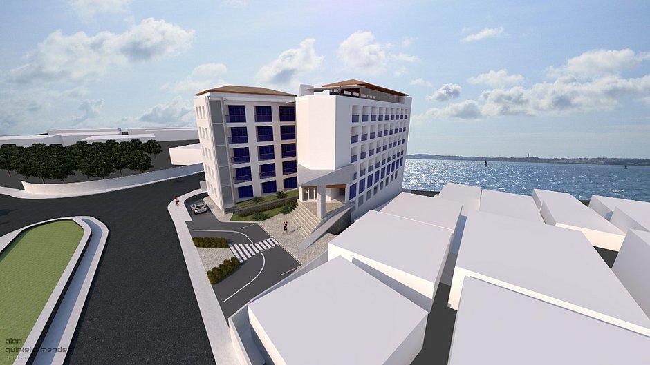 Detalhes de hotel que deverá ser construído perto da Igreja do Bonfim
