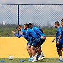Elenco do Bahia segue se preparando para as competições da temporada 2020