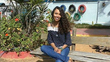 Maria Isabel Gonçalves é professora de um colégio público no município de Boninal, na Chapada Diamantina
