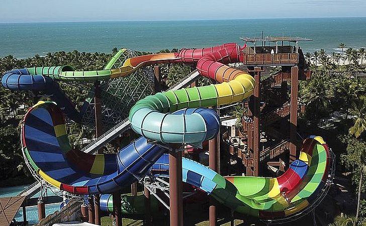 Beach Park teve outro acidente com turistas no início do ano