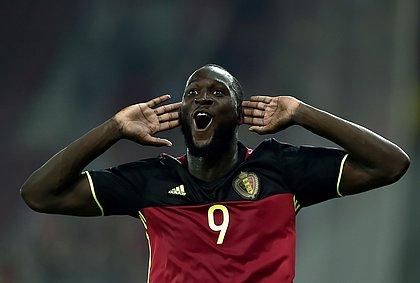 Lukaku, atacante da Bélgica