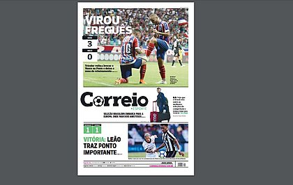 Greve afeta distribuição da edição impressa do jornal Correio