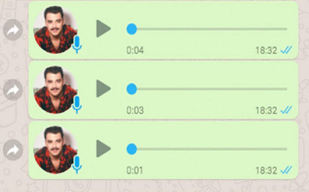 2c8510fb29 Qualquer mensagem de voz que for escutada recebe o tique azul,  independentemente da opção de habilitar ou não o recurso que dá essa  informação