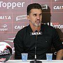 Vagner Mancini fica satisfeito com desempenho do Vitória diante do Palmeiras