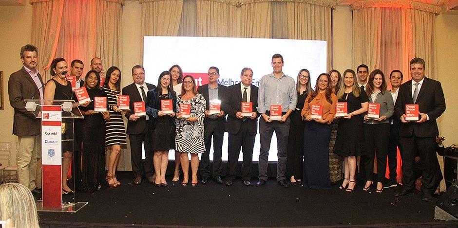 Cerimônia de premiação reúne as 15 empresas mais bem posicionadas no Instituto Feminino, no Politeama