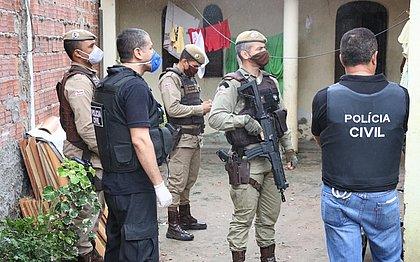 Polícia cumpre 11 mandados de prisão por homicídio em Feira de Santana